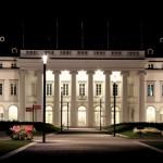 Schloss Koblenz Nachtaufnahme