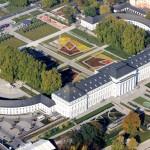 Schloss Koblenz Luftaufnahme